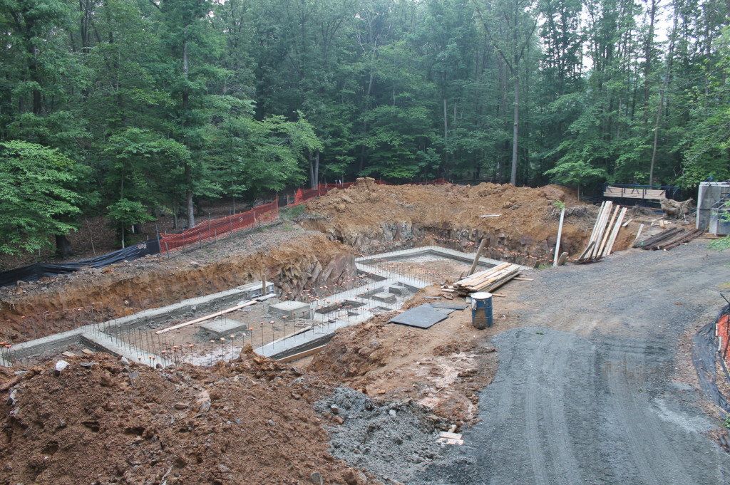 2013-06-13 Completed Footings