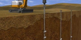 Helical Pier for New Construction Installer Solves Bad Ground