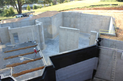 Want to see what 22 ft concrete walls look like?