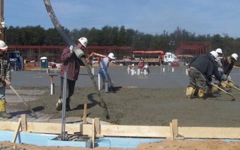 Diverse Commercial Concrete Expertise