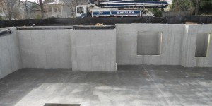 Concrete Foundation Package Footings Walls Slabs Waterprooding