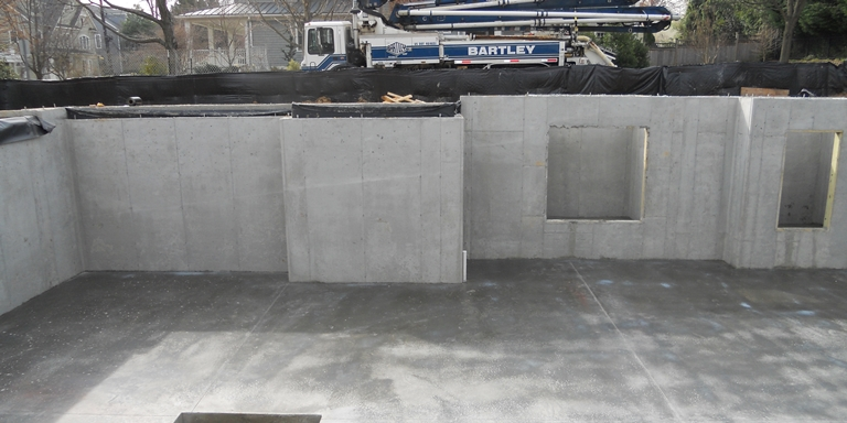 Commercial concrete construction bartley corp concrete for Cost of poured concrete foundation walls
