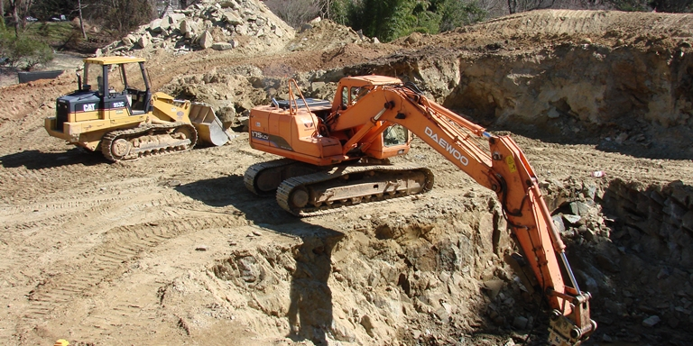 Excavation Demo Backfill Hauling Grading Site Work