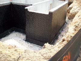 Waterproofing Wall