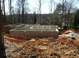 Concrete Foundation for modular home