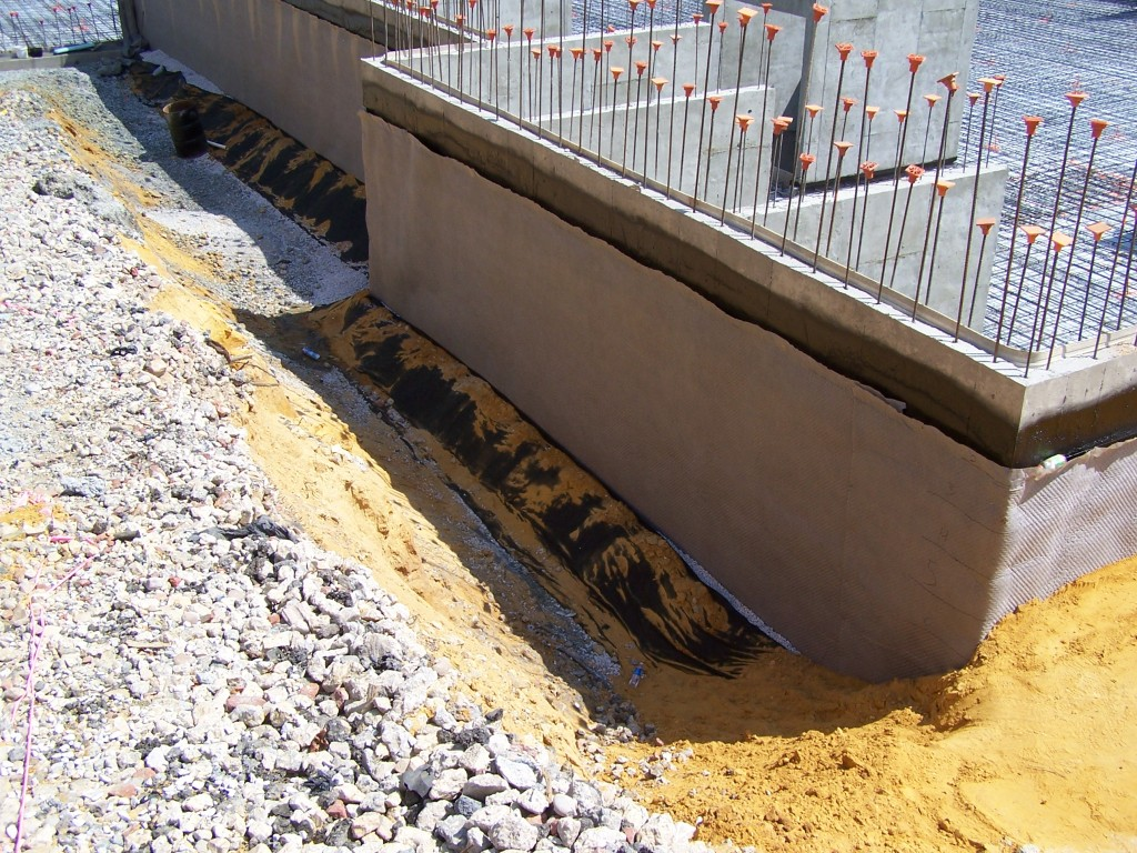 Waterproofing Draintile Bartley Corp
