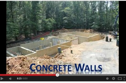 Super Speed Concrete Home Construction Video