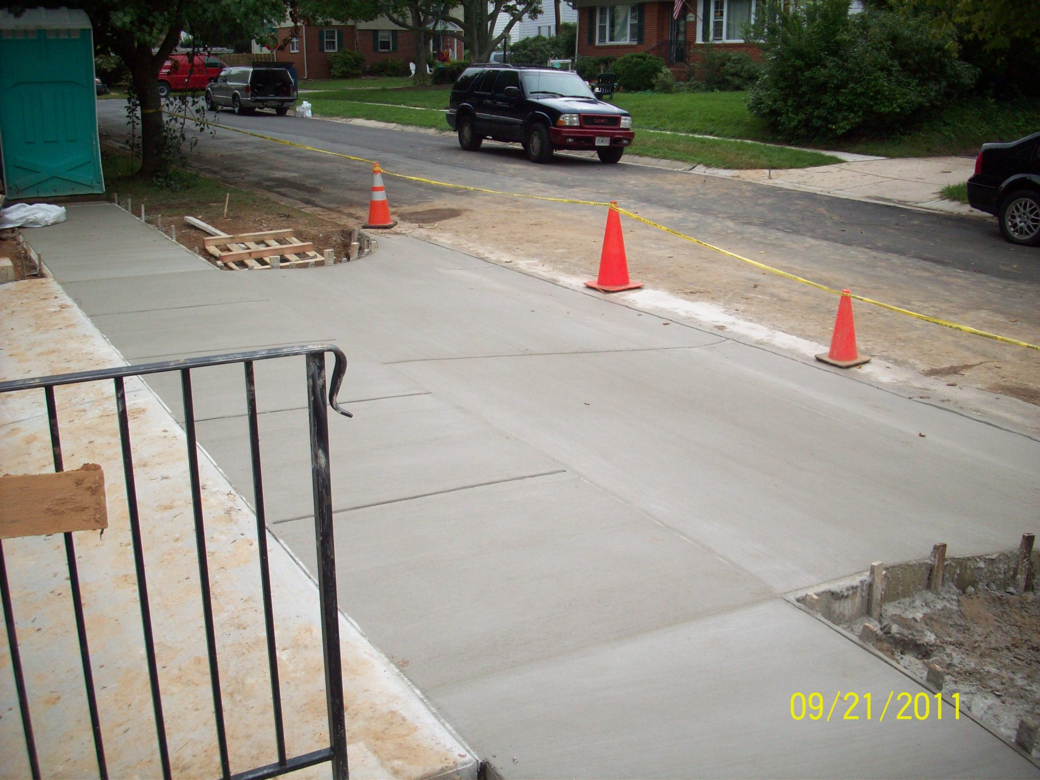 Concrete Driveway Paving for Maryland Homeowners   Bartley Corp