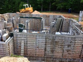 Concrete Walls Forming