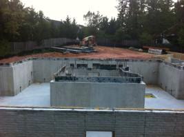 Concrete Walls Stripped