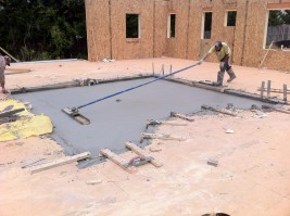 Elevated Concrete Deck