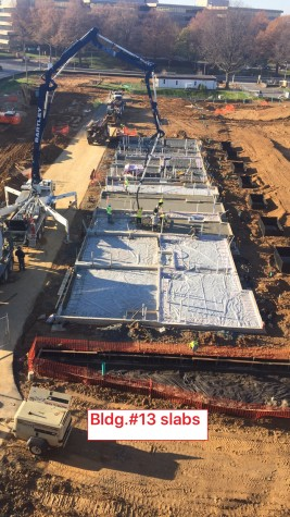B02 Bartley EYA Montgomery Row Slab Pour using Pump
