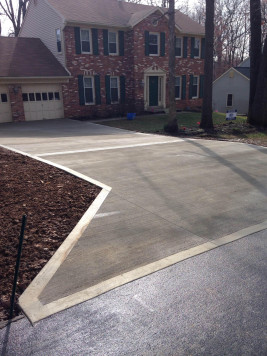Concrete Driveway by Bartley Corp